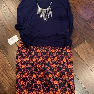 LuLaRoe Cassie Pencil Skirt with Tags